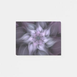 Purple Fractal Flower Post-it Notes