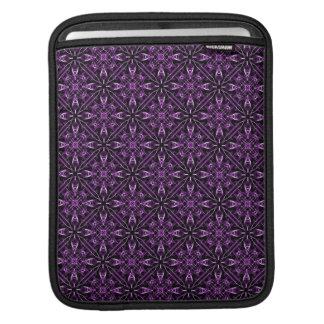 Purple Fractal Pattern iPad Sleeve