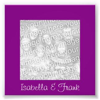 Purple Frame Photo