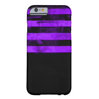 Purple Freedom of Speech Grunge Barely There iPhone 6 Case