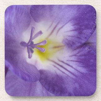 Purple Freesia Cork Coaster
