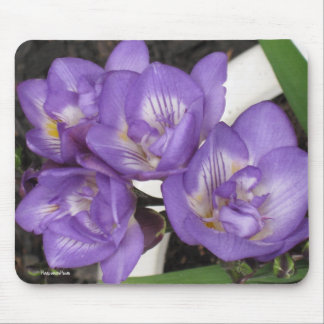 Purple Freesia Mousepad
