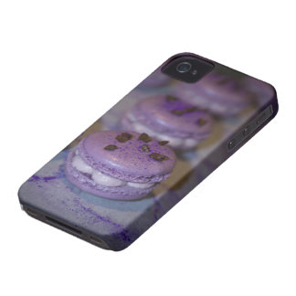 Purple French Macaron iPhone Protective Case