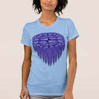 Purple Fringe Fractal T-shirt