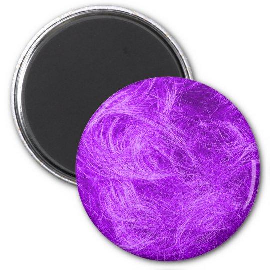 Purple Fur Magnet