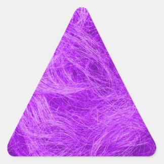 Purple Fur Triangle Sticker