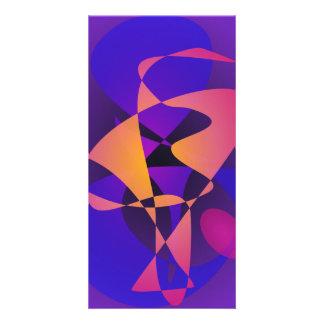 Purple Furnace Customised Photo Card