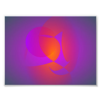Purple Furnace Photo Print