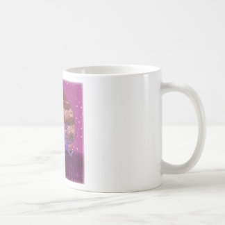 Purple Furry Cyclops over Jupiter Classic White Coffee Mug
