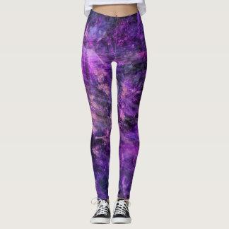 Purple Galactic Leggings