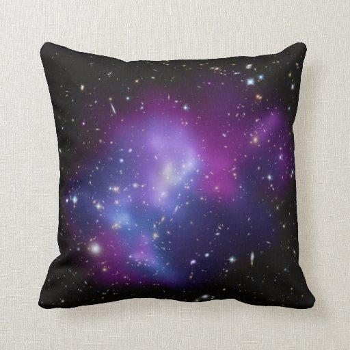 Purple Galaxy Cluster American MoJo Pillows