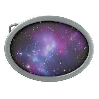 Purple Galaxy Cluster Belt Buckle