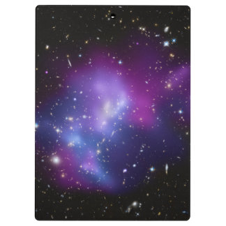 Purple Galaxy Cluster Clipboard