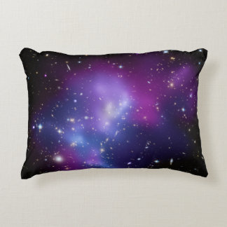 Purple Galaxy Cluster Decorative Cushion