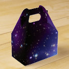 Purple Galaxy Cluster Favour Box