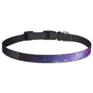 Purple Galaxy Cluster Pet Collars