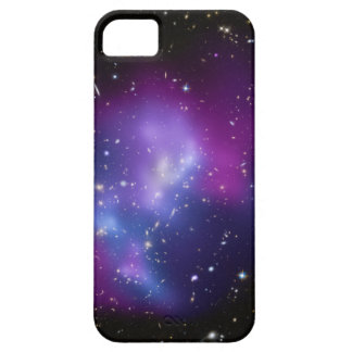 Purple Galaxy Cluster Space Image iPhone 5 Covers