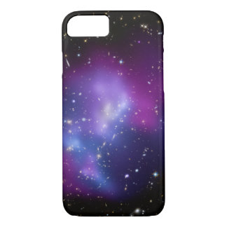 Purple Galaxy Cluster Space Photo iPhone 8/7 Case