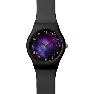 Purple Galaxy Cluster Watches