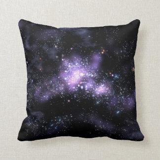 purple galaxy cushion