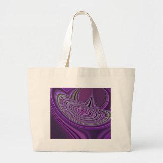 Purple Galaxy Design Tote Bags