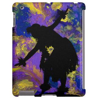 Purple Galaxy Hula Dancer iPad Case