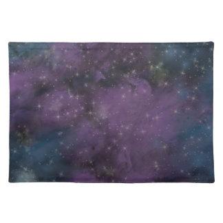 Purple Galaxy Nebula Placemat