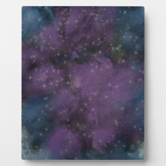 Purple Galaxy Nebula Plaque