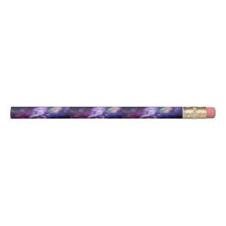 Purple Galaxy Pencil