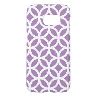 Purple Galaxy S7 Cases Geometric Pattern
