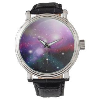 Purple Galaxy Watch