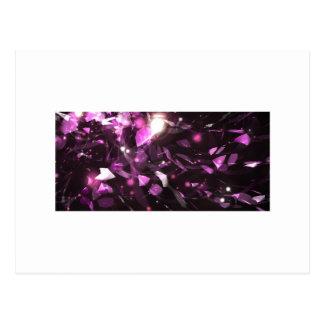Purple Gem Design Postcard