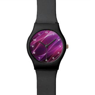Purple Geometric Abstract May28th Watch