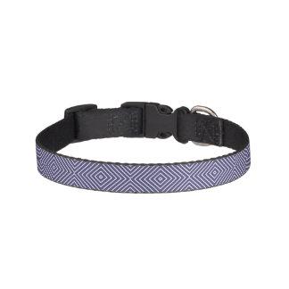 Purple Geometric Abstract Pet Collar
