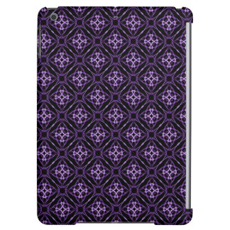 Purple Geometric Diamond Pattern