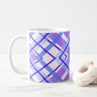 Purple Geometric Kaleidoscope pattern Coffee Mug