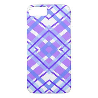 Purple Geometric Kaleidoscope pattern iPhone 8/7 Case