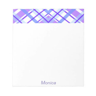 Purple Geometric Kaleidoscope pattern Notepad