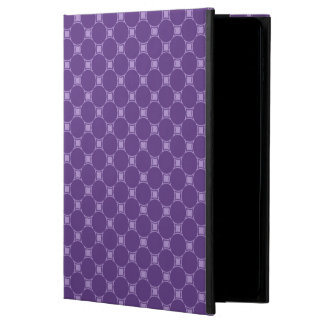 Purple Geometric Square, Circle Pattern Powis iPad Air 2 Case