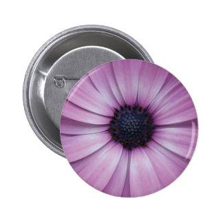 Purple Gerbera Daisy Flower Pin Brooch