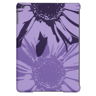 Purple Gerbera Flowers iPad Air Case