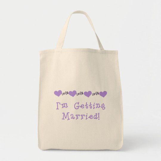 Purple Getting Married Tshirts and Gifts