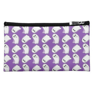 Purple Ghosts In Motion Makeup Bag