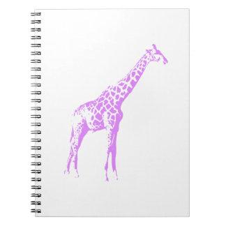 Purple Giraffe Notebooks