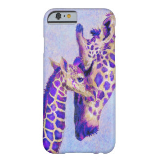 purple giraffes iPhone 6 case