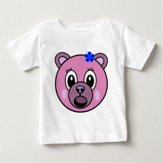 Purple Girl Bear Baby T-Shirt