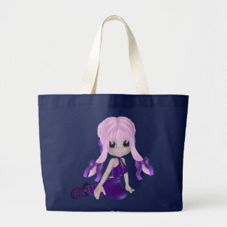 Purple Girl Dark Bag