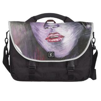 Purple Girl Laptop Bag