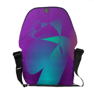 Purple Girl Courier Bags