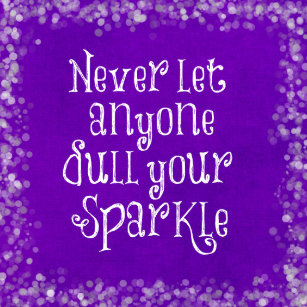 Purple Quotes Home Furnishings & Accessories | Zazzle.co.uk